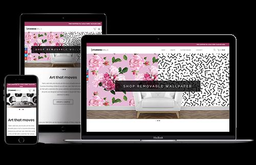 Aghadi Infotech web design - stunningwalls